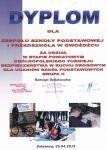 Czytaj więcej: Dyplom za udział w powiatowym ogólnopolskim turnieju BRD
