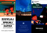 Czytaj więcej: Rekrutacja do Szkoły Muzycznej w Domosławicach